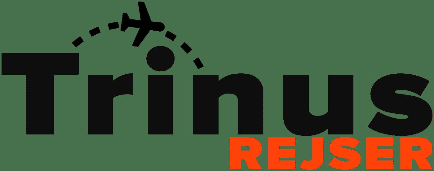 Trinus Rejser logo sort
