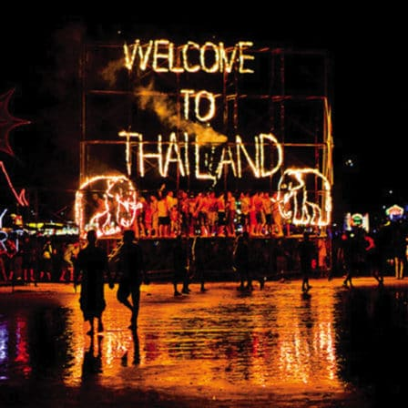 Welcome to Thailand fuldmånefest