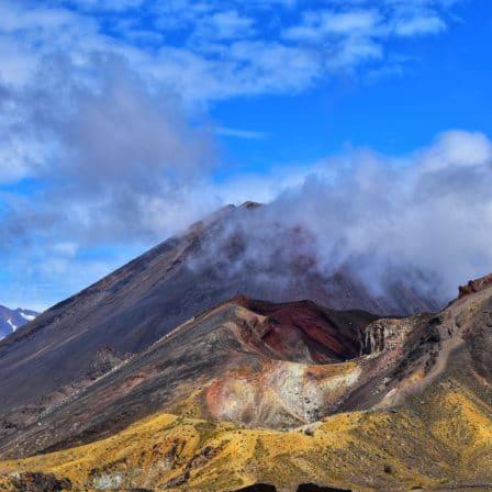 aktiv vulkan i New Zealand