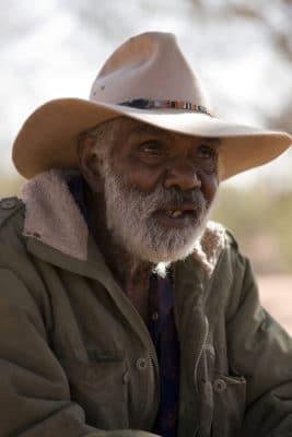 Ældre mand fra Australien