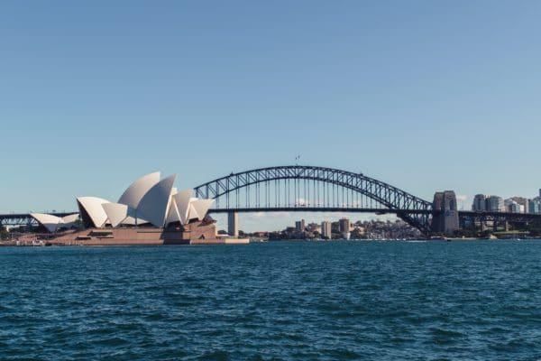 Operahuset i Sydney om dagen