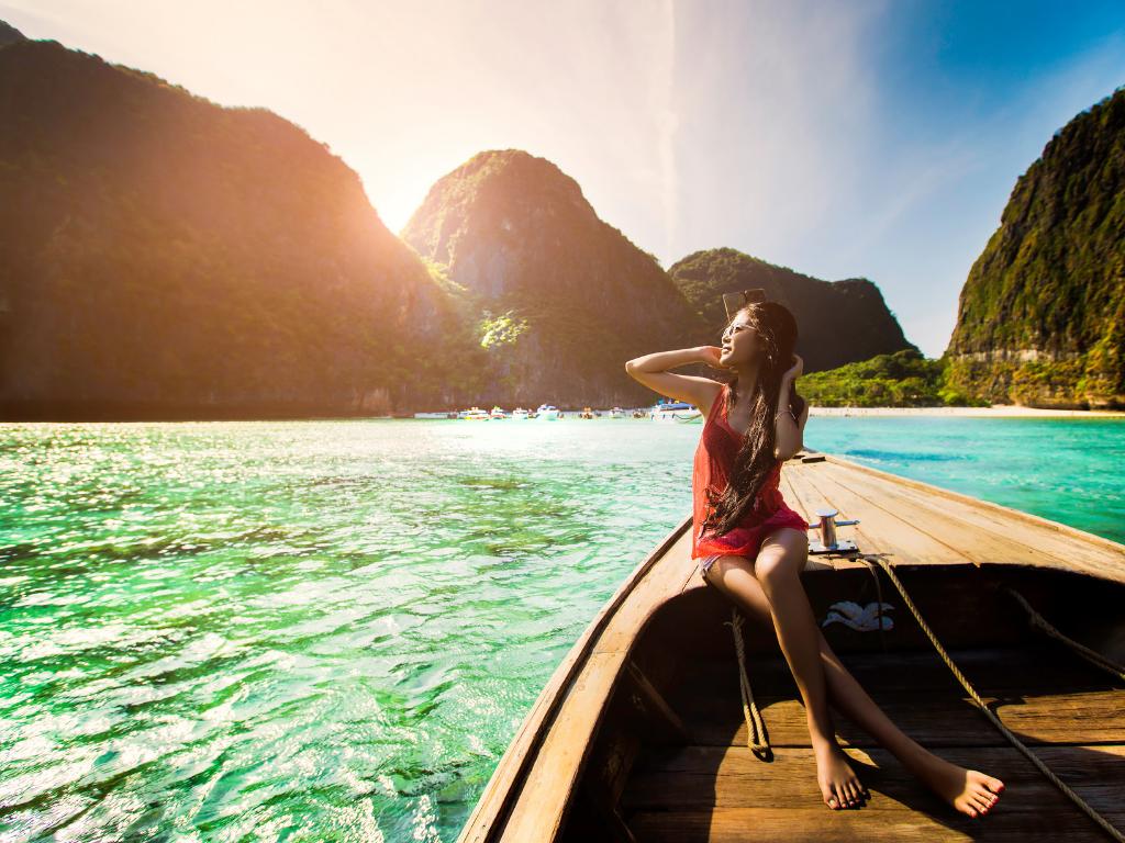 Thailand båd - Maya Bay