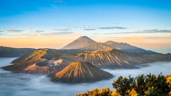 Bjerge i Indonesien