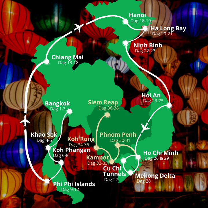Grupperejse til Asien